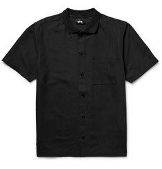Stüssy Vacation Embroidered Matte-Satin Shirt