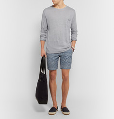 Onia - Chad Slim-Fit Knitted Slub Linen T-Shirt