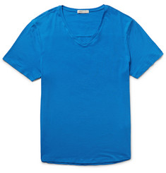 Onia Joey Slim-Fit Stretch Supima Cotton-Jersey T-Shirt