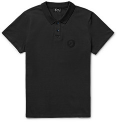 A.P.C. Slim-Fit Stretch-Cotton Piqué Polo Shirt