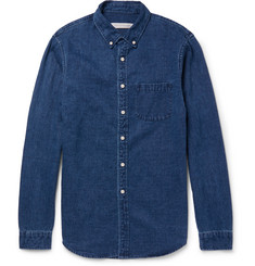 Outerknown Slim-Fit Hemp and Cotton-Blend Shirt