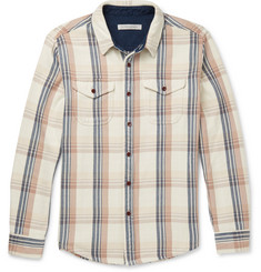 Outerknown Checked Organic Cotton-Flannel Shirt