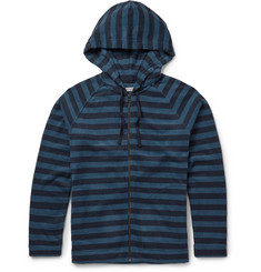 Outerknown - Lowtide Striped Cotton-Blend Terry Hoodie