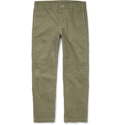 Outerknown Playa Slim-Fit Organic Cotton Trousers