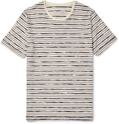 Outerknown Bahia Striped Organic Cotton T-Shirt