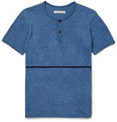 Outerknown Equator Slim-Fit Cotton Henley T-Shirt