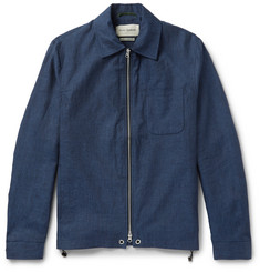 Oliver Spencer Dover Slim-Fit Linen Jacket