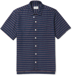 Oliver Spencer Slim-Fit Striped Cotton Shirt