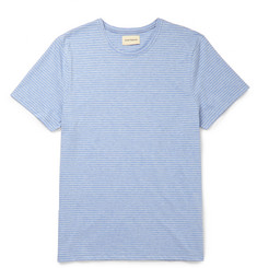 Oliver Spencer Harper Slim-Fit Striped Cotton-Jersey T-Shirt