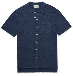 Oliver Spencer - Togo Slim-Fit Cotton-Blend Bouclé Shirt