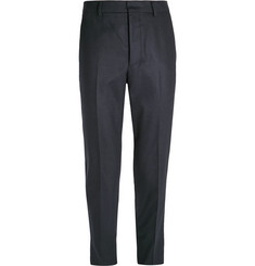 AMI - Tapered Wool-Blend Trousers