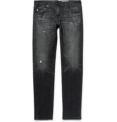 AG Jeans Dylan Skinny-Fit Distressed Denim Jeans