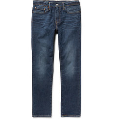 Levi's - 511 Slim-Fit Washed Stretch-Denim Jeans