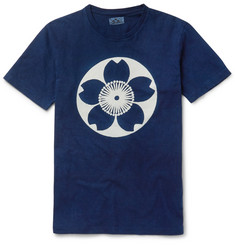 Blue Blue Japan Printed Cotton-Jersey T-Shirt