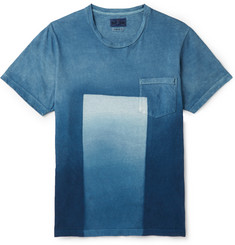 Blue Blue Japan Dégradé Printed Cotton-Jersey T-Shirt