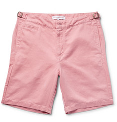 Orlebar Brown Jonathan Cotton and Linen-Blend Twill Shorts