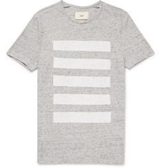 Folk Striped Mélange Cotton-Jersey T-Shirt