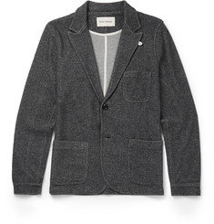 Oliver Spencer Loungewear Unstructured Fleece Blazer