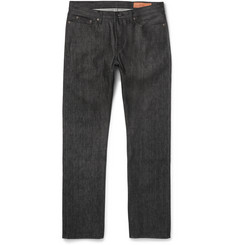 MR PORTER 5th ANNIVERSARY + Jean Shop Slim-Fit Selvedge Denim Jeans