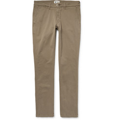 NN07 - Marco Slim-Fit Stretch-Cotton Twill Chinos