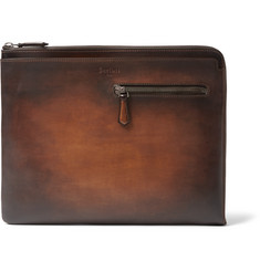 Berluti Au Grand Jour Polished-Leather Document Holder