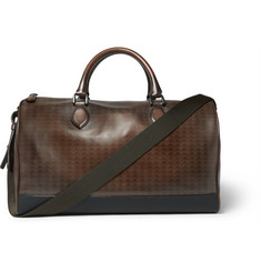 Berluti Jour-Off Embossed Leather Holdall
