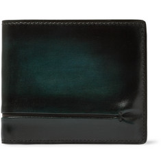 Berluti Makore Polished-Leather Billfold Wallet