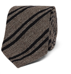Berluti 7cm Striped Wool, Cashmere and Silk-Blend Tie