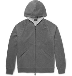 Berluti Double-Faced Cotton-Blend Jersey Hoodie