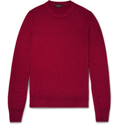 Berluti Slim-Fit Fine-Knit Wool Sweater