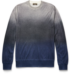 Berluti Dégradé Cashmere and Silk-Blend Sweater