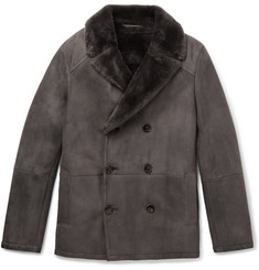 Berluti - Double-Breasted Shearling Coat
