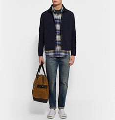 J.Crew Wallace & Barnes Ennis Slim-Fit Checked Cotton-Flannel Shirt