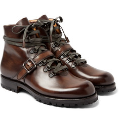 Berluti - Brunico Polished Leather Boots
