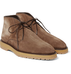 Berluti - Brushed-Suede Desert Boots