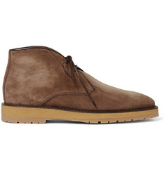 Berluti Brushed-Suede Desert Boots