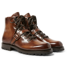 Berluti - Brunico Polished-Leather Boots