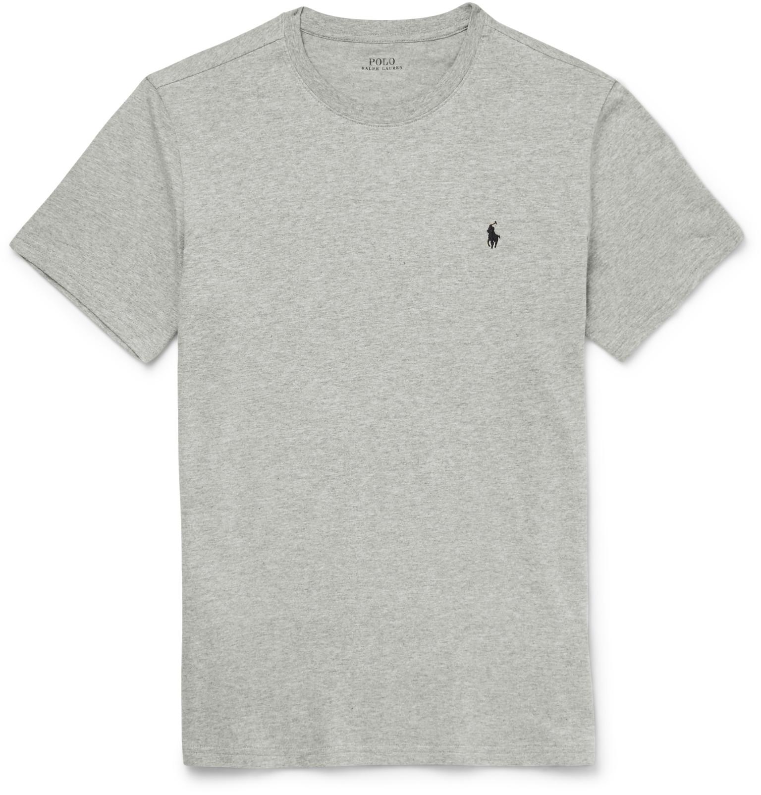 Slim Shirt Jersey Cotton Fit Lauren Ralph T Polo CdxtsQhr