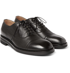 Maison Margiela - Grained-Leather Oxford Shoes