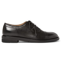 Maison Margiela Grained-Leather Oxford Shoes