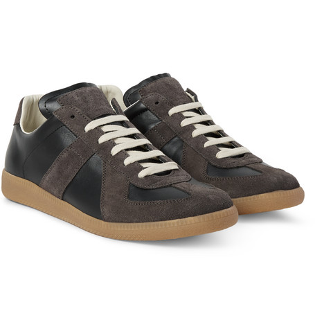Maison martin margiela replica leather low top sneaker for Replica maison martin margiela