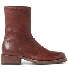 Maison Margiela Leather Chelsea Boots