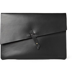 Miansai Rope-Trimmed Leather Portfolio