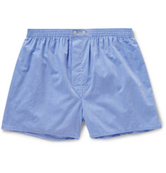 Derek Rose - Amalfi Cotton Boxer Shorts