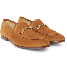 Gucci - Horsebit Suede Loafers
