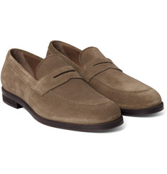 Loro Piana - Citey Walk Suede Penny Loafers
