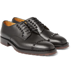 Valentino - Studded Leather Derby Shoes