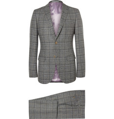Gucci - Grey Slim-Fit Prince of Wales Checked Wool Suit