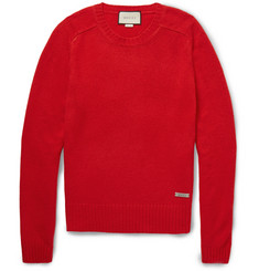 Gucci - Wool and Cashmere-Blend Sweater
