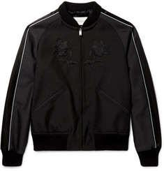 Gucci Appliquéd Wool and Mohair-Blend Souvenir Jacket
